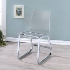 Acrylic Dining Chair Scape Acrylic Dining Chair Free Shipping Today Overstock Com