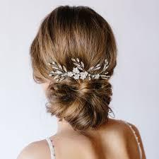 wedding hair comb wedding hair combs pearl embellished bridal hair combs