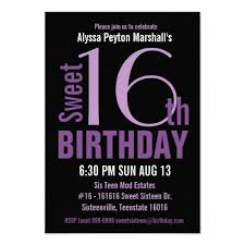 424 best purple 16th birthday party invitations images on