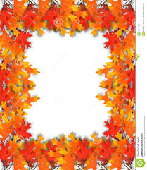 fall leaves border stock photos image 4074153