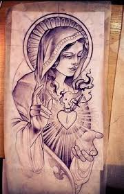 virgen de guadalupe tattoo google search santos angeles e