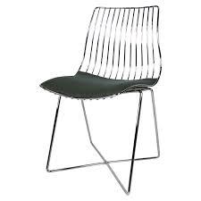 1stdibs italian chrome wire desk chair