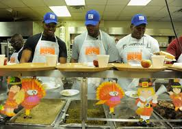 ramses barden photos photos new york giants team members deliver