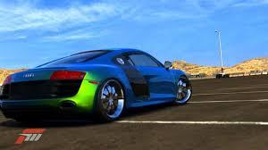 audi color changing car audi r8 blue green color change paint rear cars ummm what