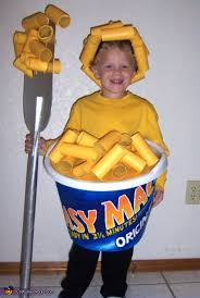 Lamp Shade Halloween Costume Easy Mac U0026 Cheese Costume Homemade Halloween Mac Cheese
