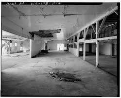 4 hay and grain warehouse interior view from the south looking