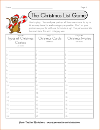 Home Inventory List Template by 10 Christmas List Template Job Resumes Word