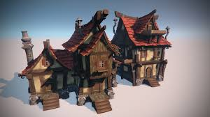 learn to model an exterior environment in autodesk maya with our