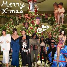 the kardashians won u0027t have a full family christmas card again for
