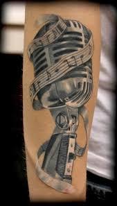 microphone tattoo photo tattoo designs