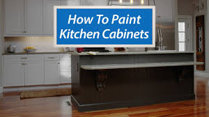 how to paint kitchen cabinets without streaks how to paint your kitchen cabinets in 5 easy steps