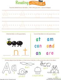 the alphabet worksheets u0026 free printables education com