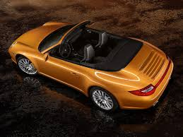 orange porsche 911 convertible porsche 911 carrera 4 cabriolet 997 specs 2008 2009 2010