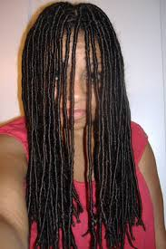 How To Dread Hair Extensions by How To Do Synthetic Locs Black With Long Hair