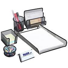 desk organizer sets amazon com