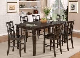 Stunning Bar Height Kitchen Table And Chairs With Furniture - Bar height kitchen table