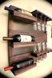 Wall Bar Cabinet Wine Rack Bar Cabinet Wine Rack Storage Glass Holder Pub Sliding