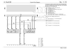 audi a8 wiring diagram 2004 wiring diagrams instruction