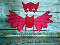 owlette costume owlette pj masks wings mask u0026 wristband