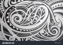 maori style ethnic ornament backdrop theme stock vector 556679989