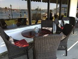 Outdoor Dining Rooms by Maine Lobster Seafood And More At The Windows On The Harbor