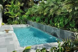 Backyard Landscaping Ideas With Pool Lap Pools For Narrow Yards Lap Pools For Narrow Yards