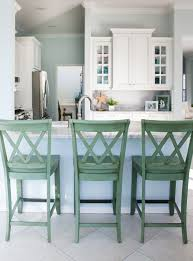 Coastal Inspired Kitchens - coastal kitchen and family room the lilypad cottage