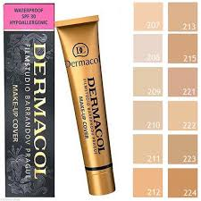 product dermacol make up cover foundation 13 shades detail