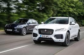 porsche macan size jaguar f pace vs porsche macan luxury suvs compared autocar