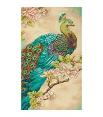 indian peacock counted cross stitch kit 9 x15 14 count joann