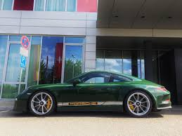 irish green porsche pts