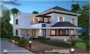 beautiful modern villa exterior indian house plans building