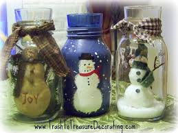 decorating canning jars for christmas are three different