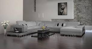 canapé d angle en cuir gris superbe canape d angle convertible simili cuir moderne résultat
