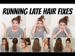 quick and easy hairstyles for running best tips to get ready fast
