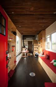 Tiny House For Two by Tiny Mobile House Made From Upcycled Materials Lets You Live Off
