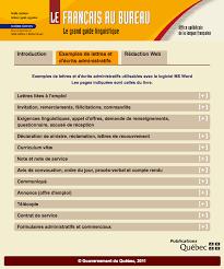 bureau d ordre et d emploi apprendre le français