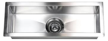 Narrow Kitchen Sink 23 X 8 5 Single Narrow Bowl Undermount Kitchen Sink