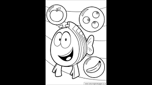 bubble guppies colouring pages and kids colouring game youtube