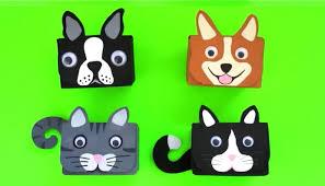 Recycled Crafts For Kids Diy Storage Box Cardboard Desk Organizer Recycled Crafts Ideas