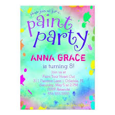 407 best colorful birthday party invitations images on pinterest