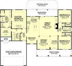 2500 Sq Ft Ranch Floor Plans 2500 Sq Ft One Level 4 Bedroom House Plans House Plan Four