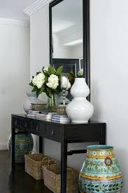 Foyer Table Decor Entry Table D On How To Decorate A Sofa Table Decorating Ideas