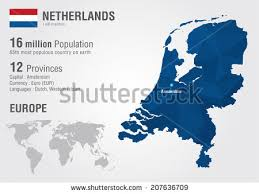 netherland map europe free the netherlands map vector free vector stock
