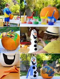 painting pumpkin olaf04 jpg