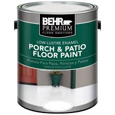behr premium 1 gal deep base gloss enamel exterior porch and