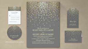modern wedding invitations read more gold foil confetti wedding invitations wedding