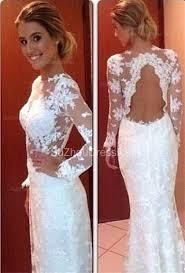 simple lace wedding dresses sleeve sheath lace wedding dresses 2018 floor length simple
