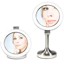buy the dimmable sunlight vanity mirror by zadro