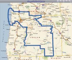Map Of Portland Oregon Area by Elder Nathan Payne June 2010